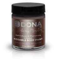 Краска для тела Dona Kissable Body Paint - CHOCOLATE MOUSSE