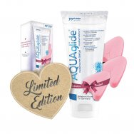 Лубрикант - AQUAglide Love Bundle (200мл +3 Soft Tampons)
