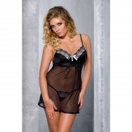 BRASILIANA CHEMISE black 4XL/5XL - Passion