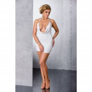 MIRACLE CHEMISE white 4XL/5XL - Passion
