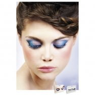 Реснички Blue-Black Deluxe Eyelashes (B526)